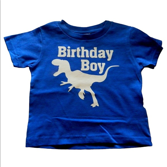 Birthday Boy Dinosaur T Shirt 18 Month